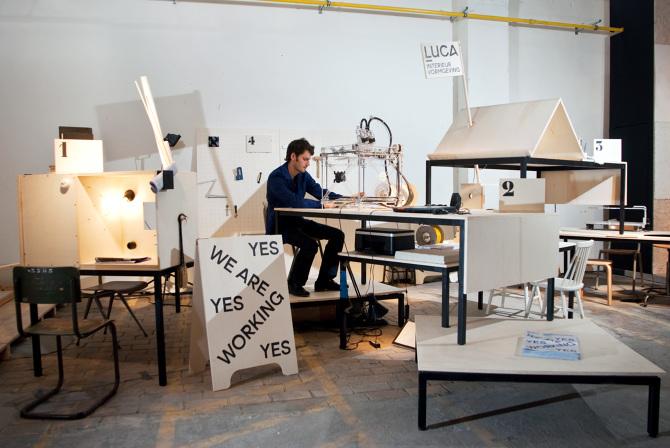 Workstation LUCA School of Arts - Anita Nevens