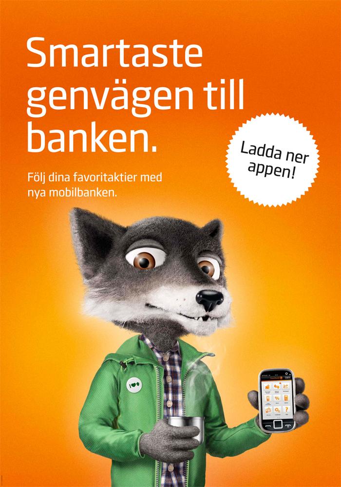 swedbank välkommen in under eken